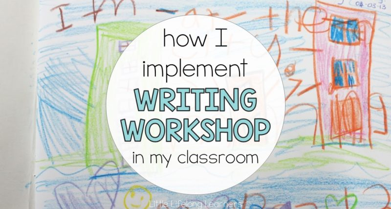 How I Implement Writing Workshop