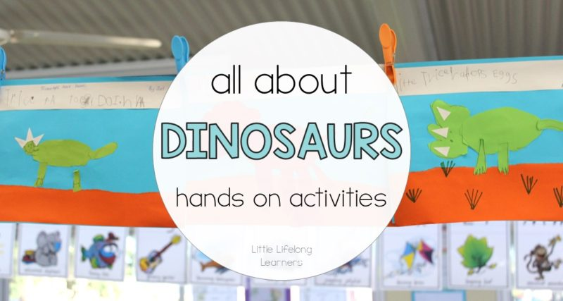 Hands on Activities for Exploring Dinosaurs