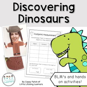 Discovering Dinosaurs - Cover