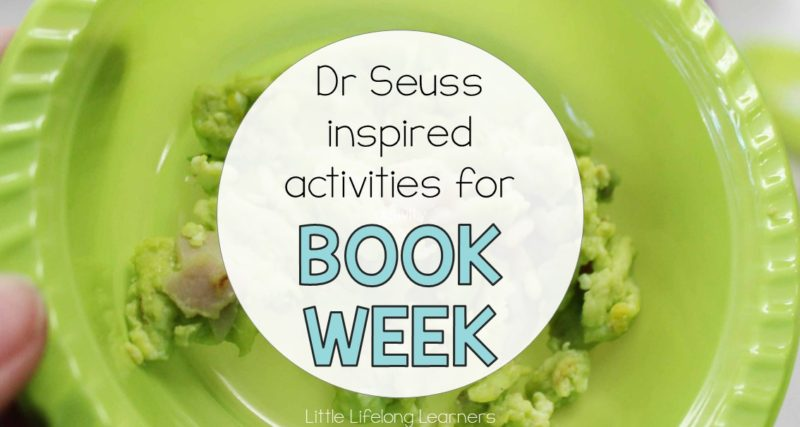 Dr Seuss Inspired Activities for Book Week