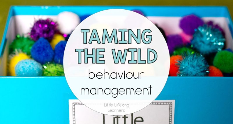 3 Strategies for Behaviour Management in the Early Years