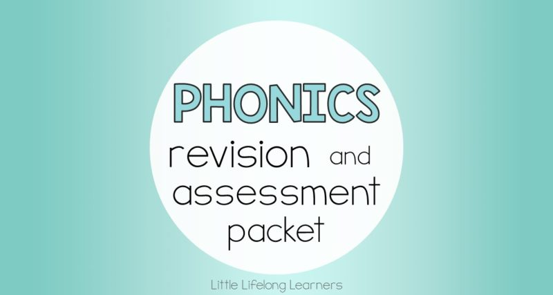 Phonics Revision and Assessment Packet