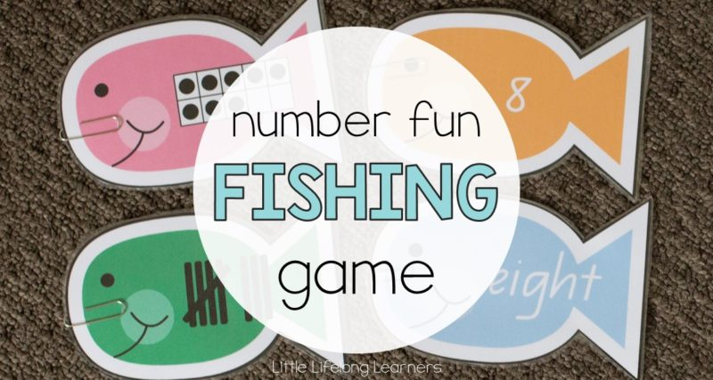 Exploring Number with a Fishing Game