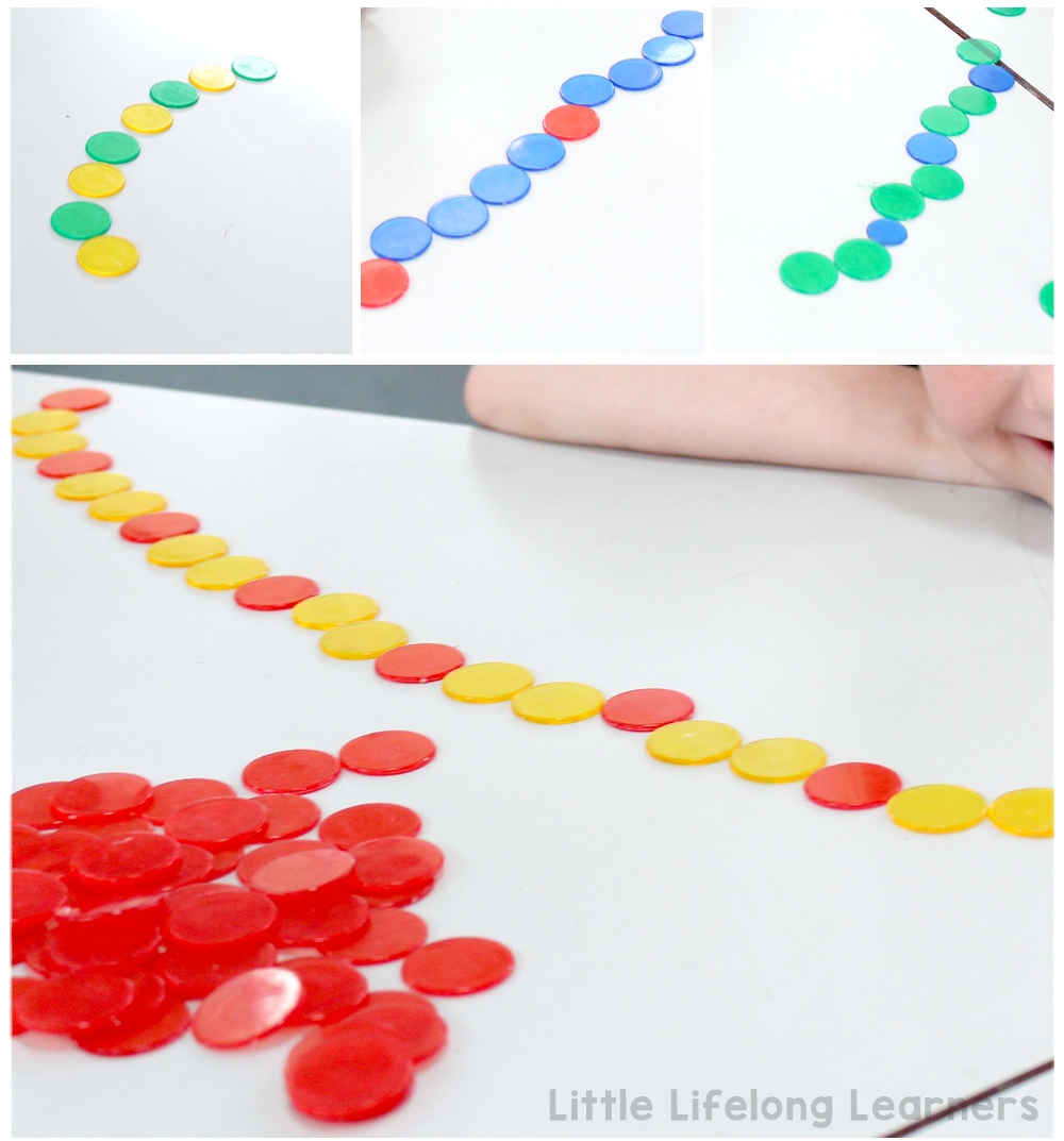 Using counters for patterning | Activities for exploring patterning in the Prep, Foundation, Preschool and Kindergarten classroom | Hands-on learning | Australian Curriculum |