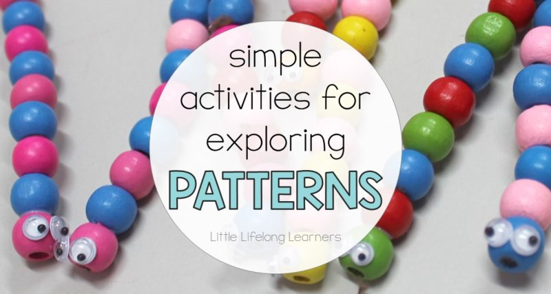 Simple Activities for Exploring Patterns