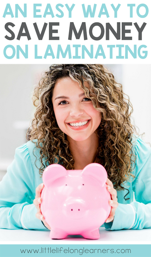 How to save money on laminating | Money saving ideas for teachers | How to cut down on your laminating | Teacher tips for Australian Prep, Foundation and Kindergarten teachers |