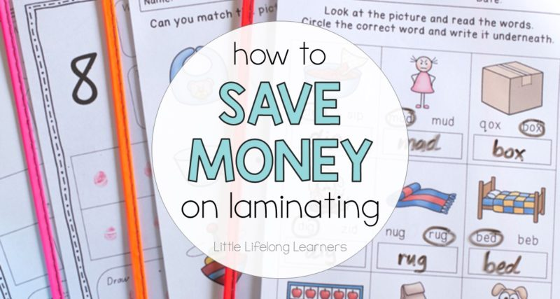 How to save money on laminating