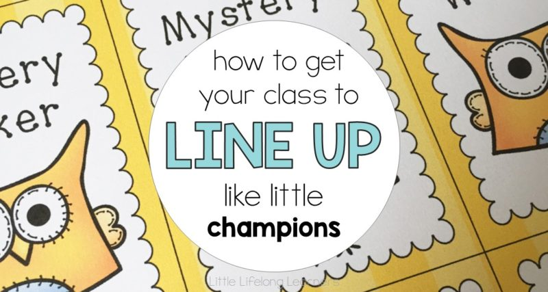 How to Get Your Class To Line Up