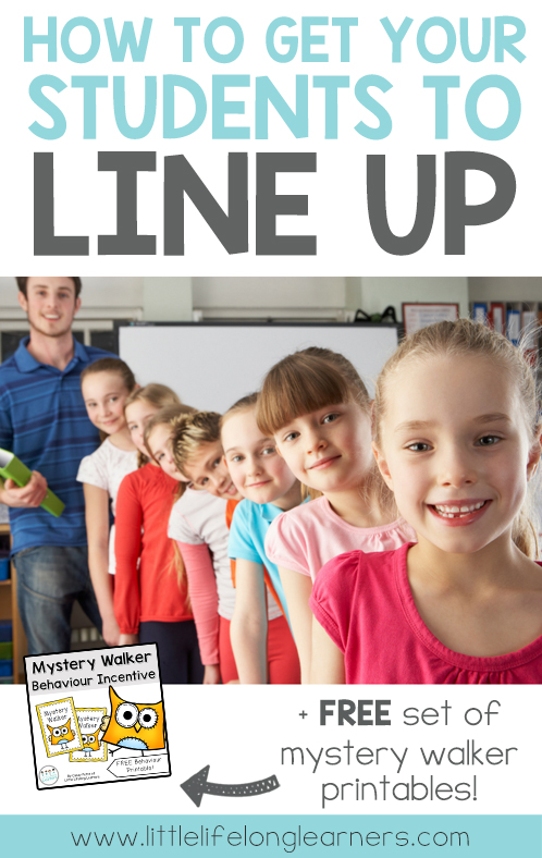How to get your students to line up nicely | behaviour management | classroom printables | class behavior techniques |