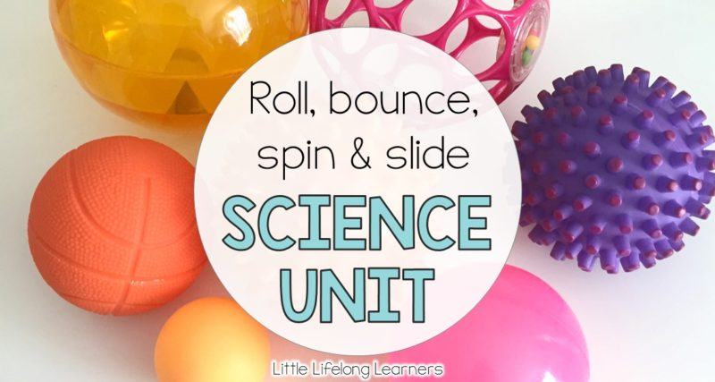 Roll, Bounce, Spin and Slide – Prep Movement Unit