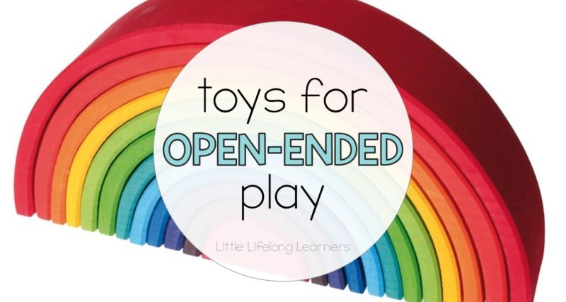 Toys for open-ended play time