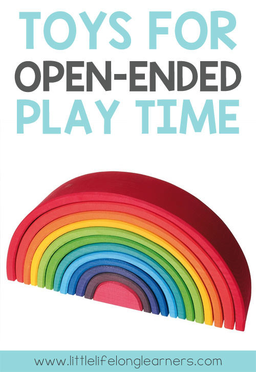 Toys for open-ended play | play-based learning | wooden toys for toddlers
