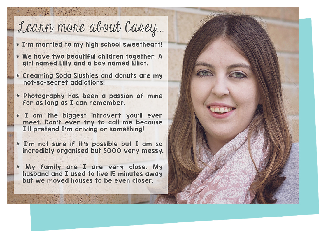 All about Casey from Little Lifelong Learners