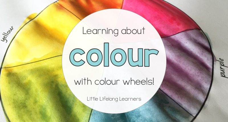 Learning about Colour with Colour Wheels
