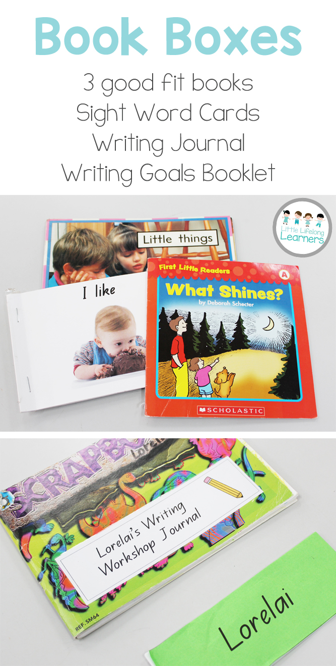 Daily 5 Book Boxes for Literacy Groups