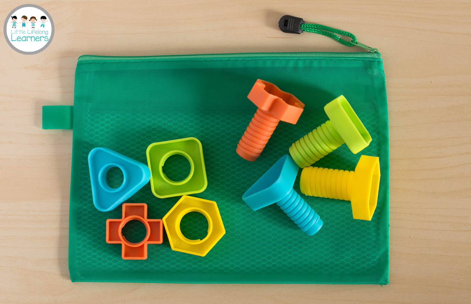 Busy Bags for Toddlers - Nuts and Bolts