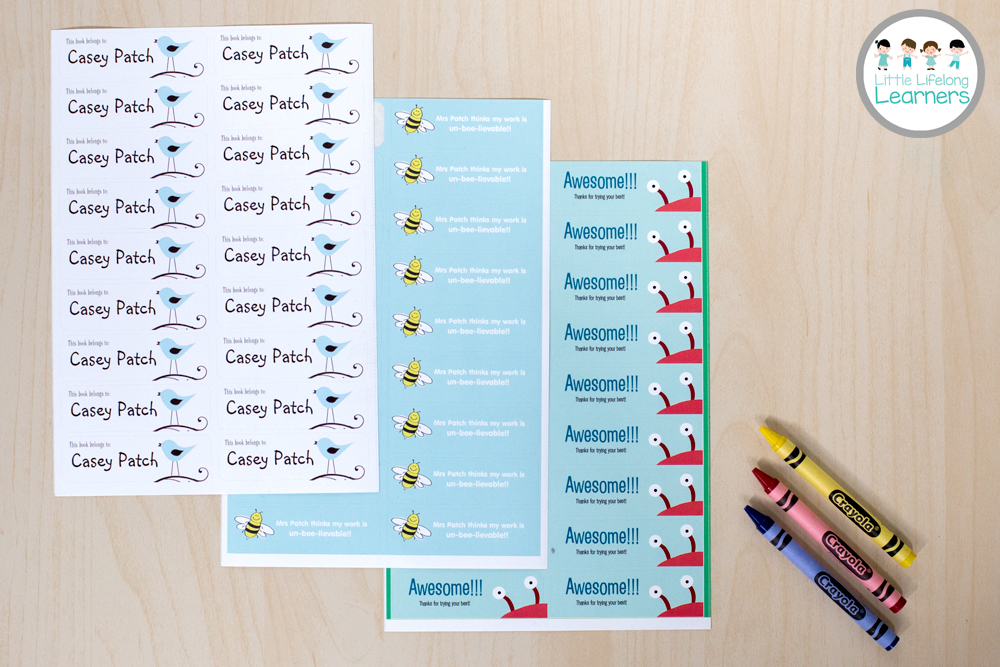 Vistaprint for the Classroom - Book Stickers, Personalised Stickers for teachers
