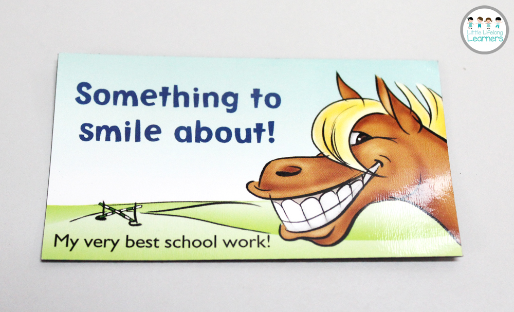 Vistaprint for the Classroom - My best work magnet