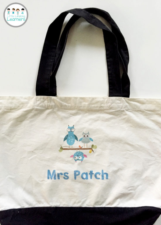 Vistaprint for the Classroom - Teacher Tote Bag