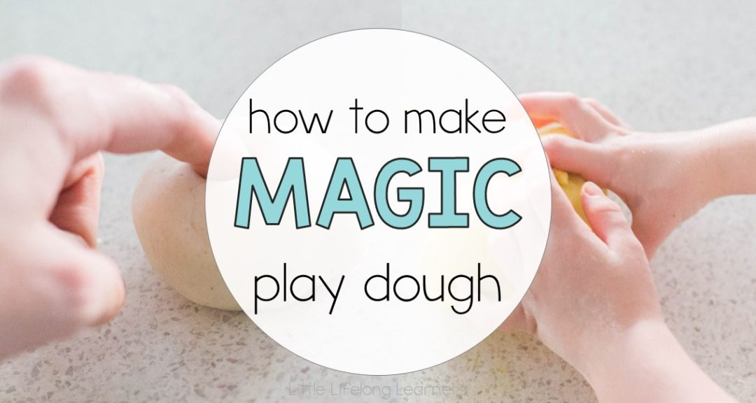 How to make magic play dough for the first day of school | back to school gift for students | prep teacher ideas | welcome present for new students | beginning of the year