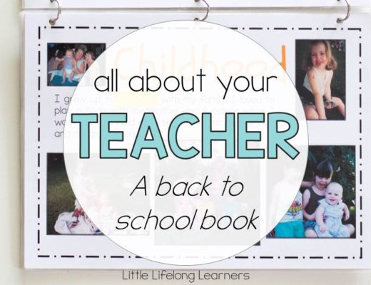 All about your teacher - Back to school book about the teacher   Prep, Foundation, Kindergarten class   Easy project for your new classroom   Printables for Australian early childhood teachers  