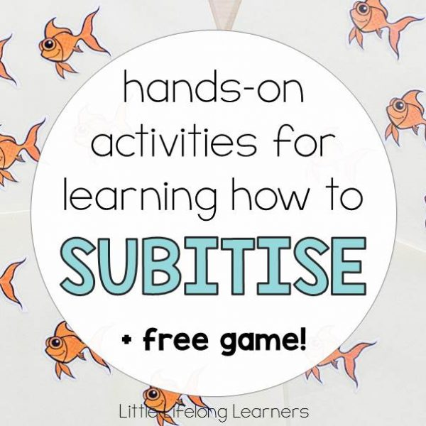 Hands-on activities for learning how to subitise   Subitising games and ideas for Prep, Foundation and Kindergarten students   Australian Curriculum Numeracy Strand - Number  